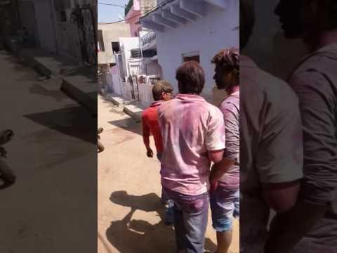 Pramod Meena Holi Dance