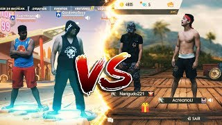 GRATUIT FIRE VS FORTNITE (VIDA REAL)