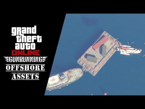GTA 5 - Gunrunning DLC // Mission: Offshore Assets