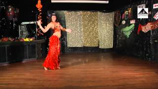 Belly dance superstar Denis  Dancing to Doky Ya Mazika from Cairo Nights CD  music Dr Samy Farag