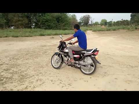 NEW HERO HF DELUXE 2019 SELF FULL REVIEW TEST DRIVE TOP SPEED SPECIFICATIONS FEATURES PRICE