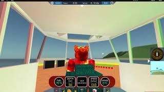 Roblox Dynamic Ship Simulator 3 Bateau de feu