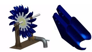 Pelton Turbine/Wheel Working & Design