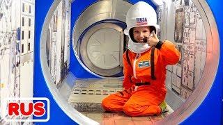 Влад и Никита хотят быть космонавтами