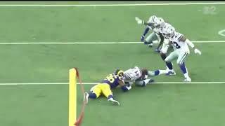 Justin Phillips CRAZY INTERCEPTION // Dallas Cowboys vs. LA Rams NFL Preseason
