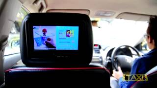 Tesco Lotus Heros ads in taxi by Taximedia Thailand Thumbnail