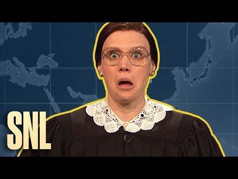 Weekend Update Rewind: Ruth Bader Ginsburg (Part 1 of 2) - SNL