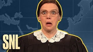 Weekend Update Rewind: Ruth Bader Ginsburg (Part 1 of 2) - SNL
