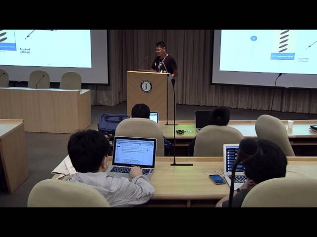 Image from R2 DAY2-01 OpenLCDFDM: an finite-difference LCD simulator - Zong-han Xie (PyCon APAC 2015)