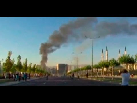 turkey coup attempt ankaras presidential palace parliament building bombed