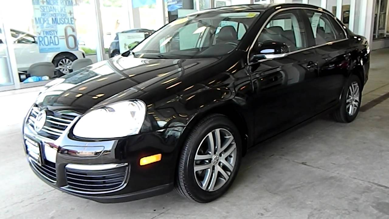 Black 2008 VW Jetta 2.5 SE @ Eastside Volkswagen in ...