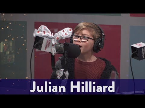 The Kidd Kraddick Morning Show - Julian Hilliard From The Haunting Of Hill House Joins The Show!