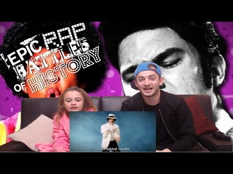 EPIC RAP BATTLE OF HISTORY! MICHEAL JACKSON V ELVIS PRESLEY