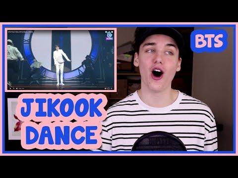 BTS PROM PARTY - JIMIN / JK BLACK OR WHITE DANCE REACTION [BTS FESTA 2018]