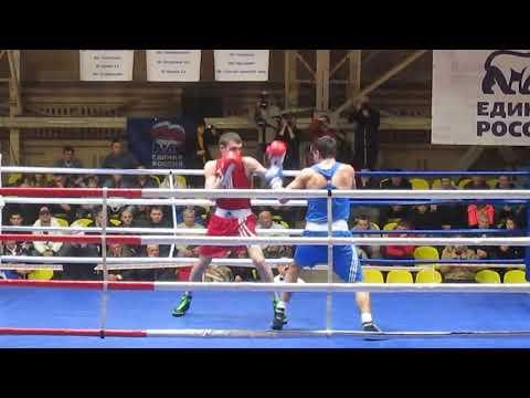 Финальный бой Раханаев Давид   Осипов Артур 75 кг 2 раунд