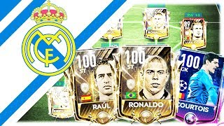 EPIC FULL REAL MADRID SPECIAL CARDS SQUAD ! FIFA MOBILE 19
