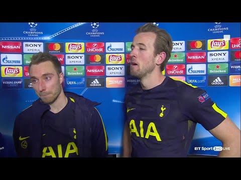 Juventus 2-2 Tottenham: Harry Kane and Christian Eriksen speak to BT Sport