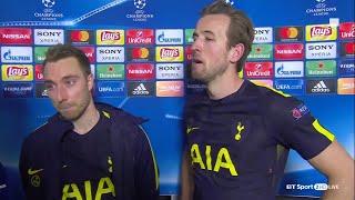 Juventus 2-2 Tottenham: Harry Kane and Christian Eriksen speak to BT Sport