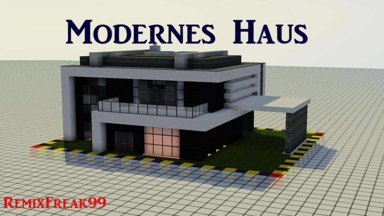 Minecraft haus tutorial 9 modernes haus 60fps hd for Minecraft modernes haus deutsch