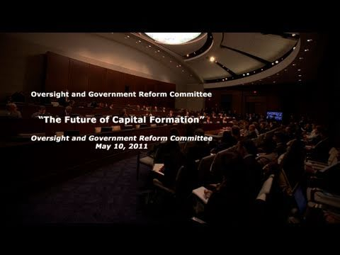"""The Future of Capital Formation"" Panel 1"