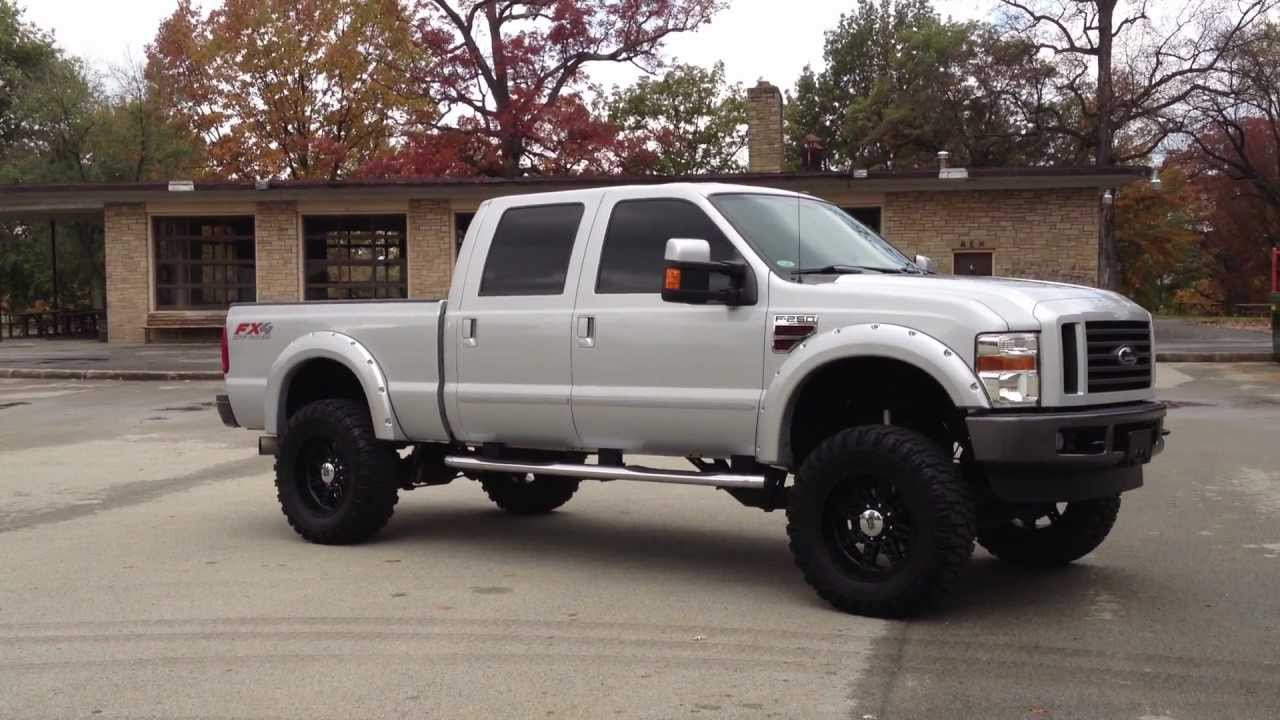 2008 ford truck f 250 lariat fx4 diesel for sale at autosport co youtube