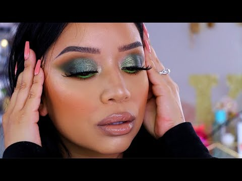 Makeup Monday | Khaki & Green Makeup Look | Ohmglashes | Bretman Rock X Wet N Wild