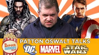 Patton Oswalt Talks DC, Marvel, Star Wars & More!