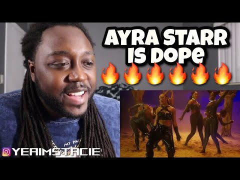 AMERICAN reacts to AYRA STARR – AWAY | STACIE REACTION