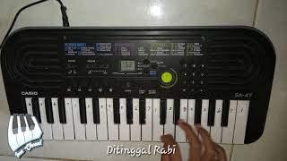 Kunci Not  Ditinggal Rabi