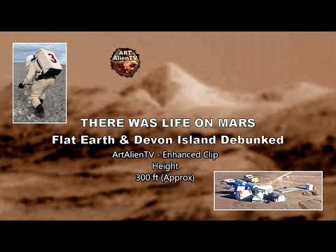 👽THERE WAS LIFE on MARS - Devon Island Debunked - ArtAlienTV Mp3