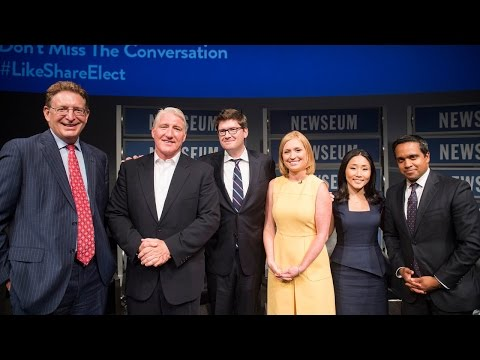 """Inside Politics"" with CNN's John King at the Newseum"