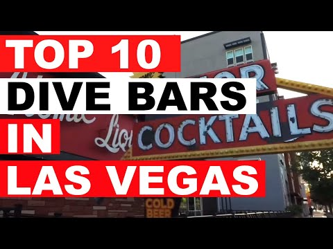 Top 10 Dive Bars In Las Vegas
