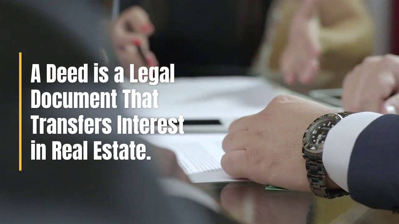 Real Estate Deed Frequently Asked Questions - Deeds com