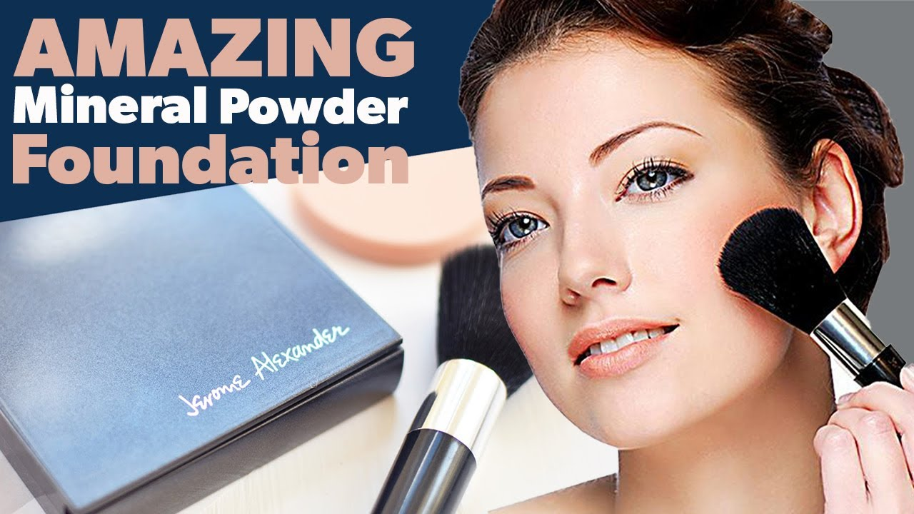 How To Use Magic Minerals Powder Foundation Youtube