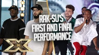 Rak-Su's ORIGINAL HITS from their FIRST and FINAL performances | The X Factor UK
