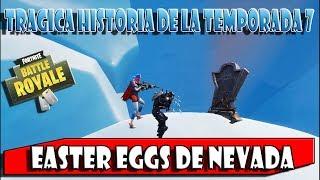 *FILTRATE SECRETS* EASTER EGGS NEVADA STORIES ? SEASON 7 FORTNITE BATTLE ROYALE