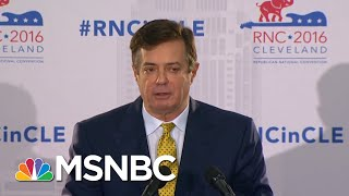Prosecutors Rest Case In Paul Manafort Trial, Defense Will Announce Witnesses | MTP Daily | MSNBC