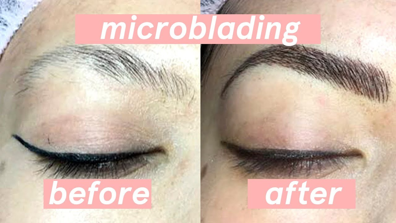 Microblading Eyebrows Before and After Experience 💖 First Time + HONEST  Review