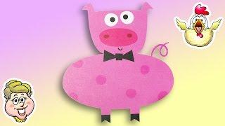 Easy-to-Draw Animals - Potbellied Pig! EWMJ #170