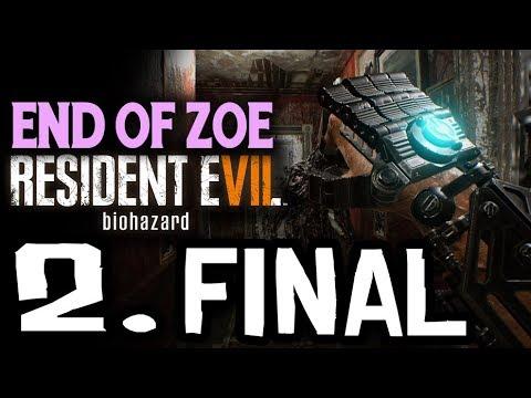 RESIDENT EVIL 7 END OF ZOE - EL JUGUETITO DE UMBRELLA #2 FINAL - GAMEPLAY ESPAÑOL