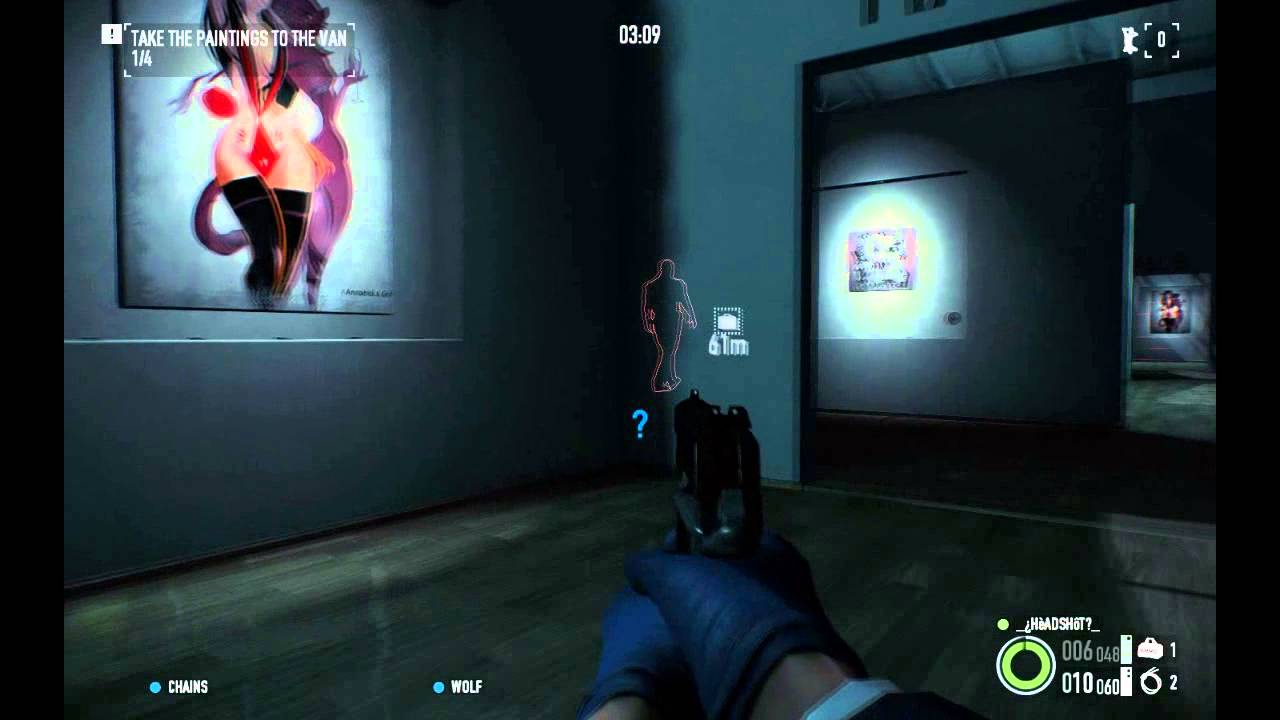 PAYDAY 2 - Framing Frame Mission Stealth (Pre-Beta) - YouTube