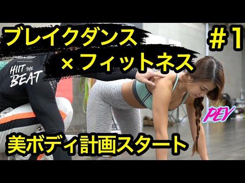 【初心者】10分で全身を鍛える脂肪燃焼ブレイクレティクスで全身の脂肪を燃やす!ブレイクダンス×フィットネス【ダイエット】#1