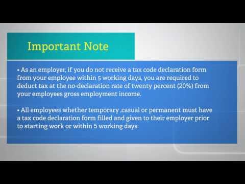Fiji Revenue & Customs Authority - EMS/PAYE Tutorial