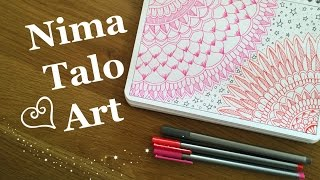Mandala - Meditation - Zenart - Speed drawing
