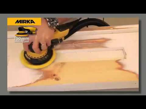 Efficient Heavy Duty Paint Removal Sanding Using Abranet Hd From Rest Express Youtube