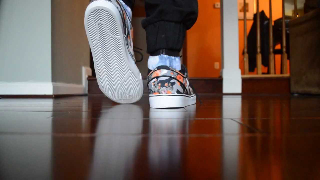good 6669f 9b3a0 Nike SB Stefan Janoski Orange Floral Review + On Foot