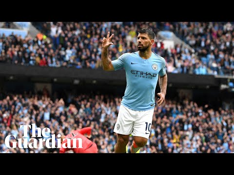 Agüero is one of the best strikers in the world, says Guardiola