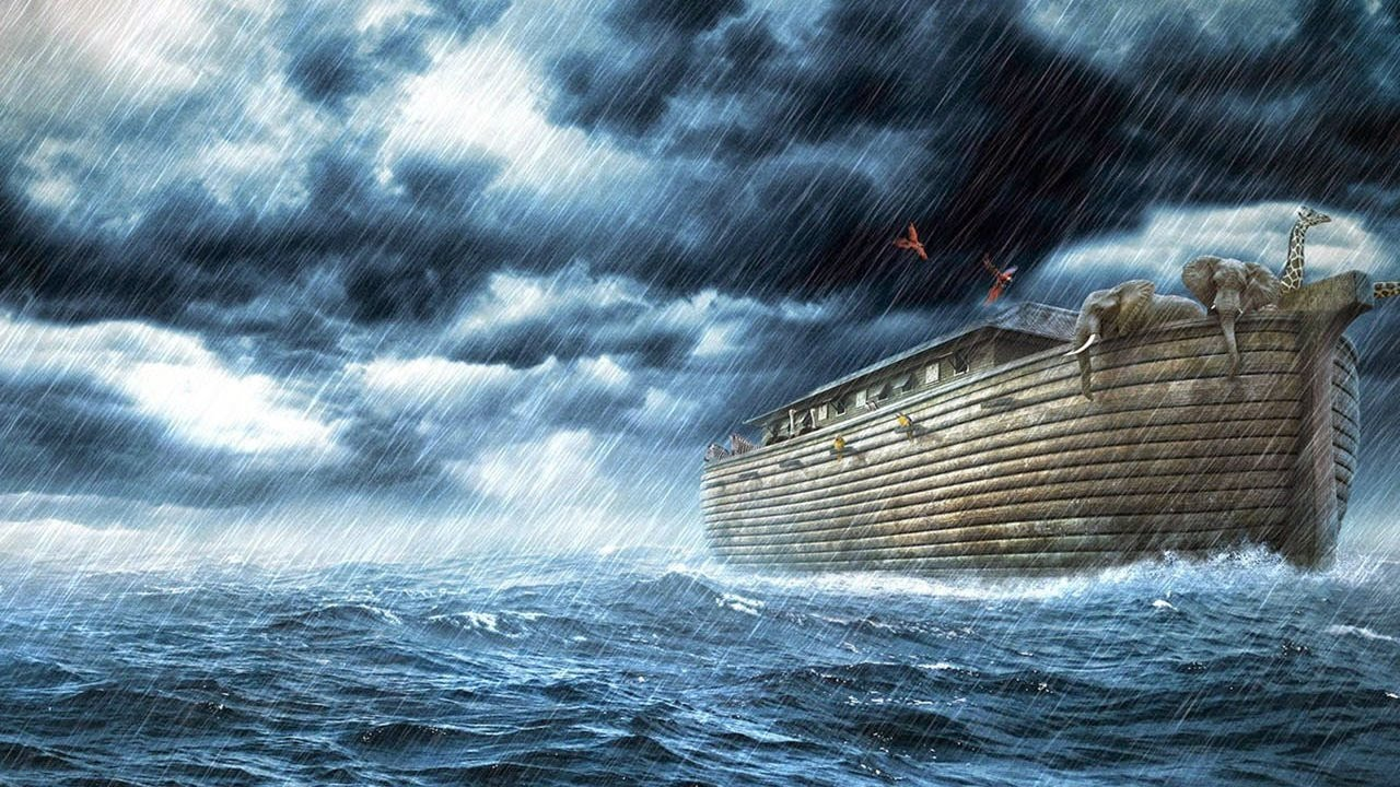 Image result for noah's flood""
