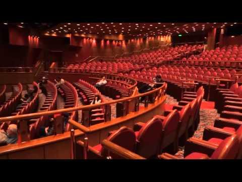 Princess Cruise Ship Theater Tour