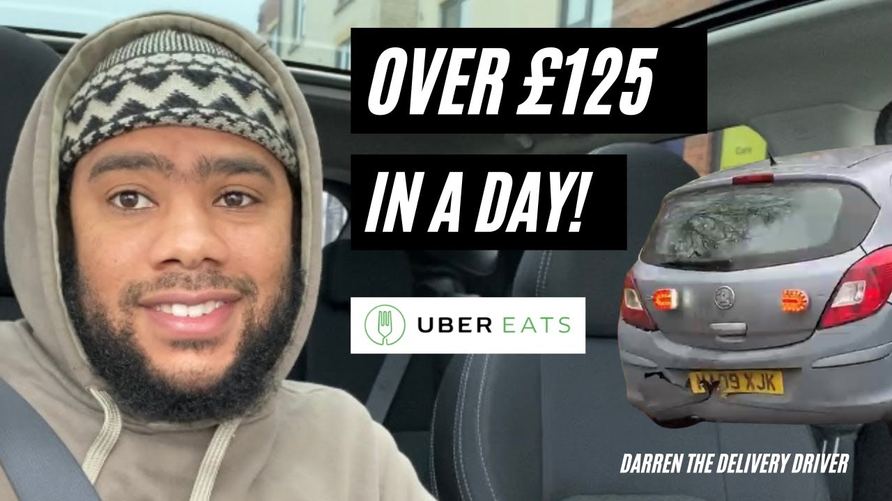 How much money i made in 1 day with UberEats.